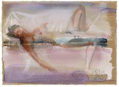 Subliminal Blip, digital overlay by Gretchen Kelly by gretchenkellystudio on Etsy