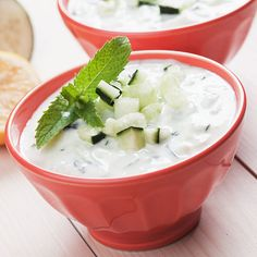 Combine all ingredients except cucumber in a food processor and puree until almost smooth. Serve in a small bowl and garnish with. Dip Recipes, Great Recipes, Cooking Recipes, Tzatziki, A Food, Food And Drink, Feta Dip, Vegetarian Cheese, Aioli