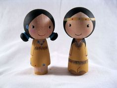 waldorf peg doll face - Google Search