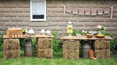 Rustic Weddings »    25 Chic Rustic Hay Bale Decoration Ideas for Country Weddings »❤️    See more:    http://www.weddinginclude.com/2017/05/chic-rustic-hay-bale-decoration-ideas-for-country-weddings/