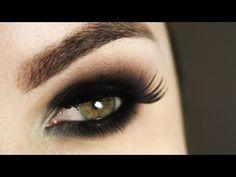 Olho Esfumado Sem Marcação - Christmas Makeup Tutorial - YouTube