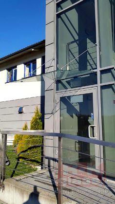 Obróbka szkła na konstrukcję wykonana przez Hurtownię Szkła Rzeszów.