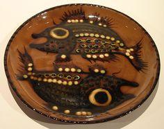 Jean Hampton Double Fish Dish