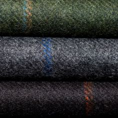 Hold Your Horses - Holland and Sherry's windowpane tweeds