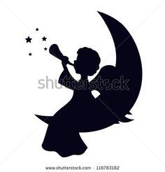 Silhouette Angel Photos et images de stock   Shutterstock