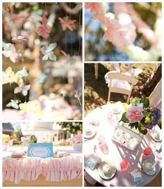 Butterfly party. See more details on www.karaspartyideas.com