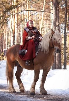 And you thought you were in a fairy tale? - IV The fourth exhibition of costumes. Slavs and Vikings IX-XII.