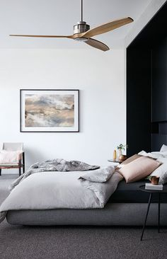 New Ceiling Fan in the Master Bedroom   Pinterest   Modern ceiling ...