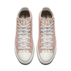 5e270b9b0a3046 Converse Custom Chuck Taylor All Star Rose Embroidery High Top Shoe
