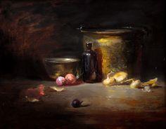 metal still life painting | Kelli Folsom - Still Life Paintings