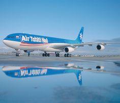 Travel Air Tahiti Nui when traveling to Tahiti or Bora Bora!!
