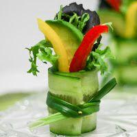 Cucumber Salad Sushi