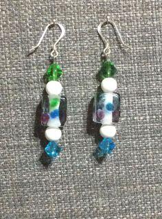 Fun dot earrings by ericacatlett on Etsy