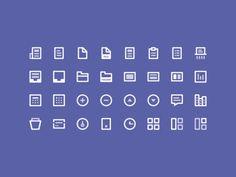 32 Icons (Freebie)