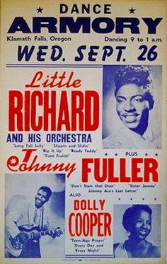 LITTLE RICHARD IN KLAMATH FALLS, OREGON, CIRCA 1956