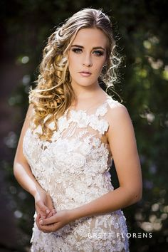 Wedding Bridal Beautiful Couture Dress Romance Lace Brett Florens Photography