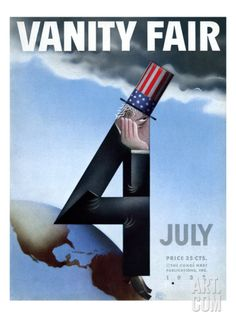 Vanity Fair Cover - July 1933 Regular Giclee Print by Garretto at Art.com