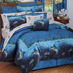 Coral Reef Comforter Set (Full Size)