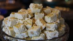 Sheer Pera, Afghan Milk Fudge with Rosewater, courtesy of Humeira Afghan Culture Unveiled.