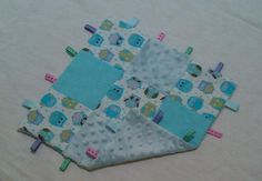 Pattern  Patchwork 'Taggie' Security Blanket  PDF by DesignsbySha, $5.50