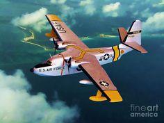Grumman HU-16 Albatross, the first flight was October 24 1947, so cool!