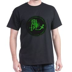 Dantalion Sigil Tee (Dark) on CafePress.com