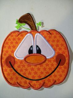 Pumpkin applique