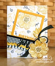 After-Hours Ink & Flowers: Yellow MasterBoard
