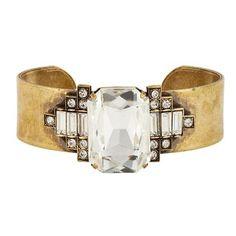 I love this Loren Hope cuff. I just discovered her jewelry and Im a big big fan.