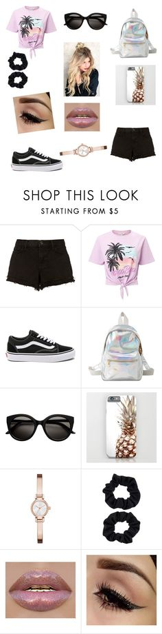 """""""{A little mix of everything}"""" by alexiskepford ❤ liked on Polyvore featuring J Brand, Miss Selfridge, Vans, Charlotte Russe, DKNY and Accessorize"""