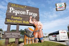 Visit #PigeonForge, the Land of More, with your family anytime of year for an explosively fun vacation!