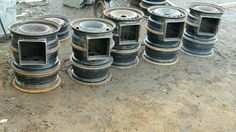 "15"" stoves welded"