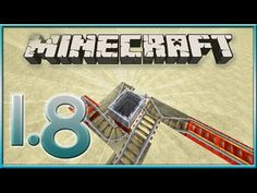 MineCraft 1.8 MineCart Rail Tricks! (Updated Features) - YouTube