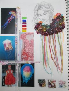 Best Ideas Fashion Sketchbook Textiles Art Portfolio - The Effective Pictures We Offer You About fashion illustration A quality picture can tell you many - Fashion Sketchbook, Textiles Sketchbook, Arte Sketchbook, Fashion Sketches, Sketchbook Ideas, Design Textile, Textile Art, Fashion Books, Fashion Art