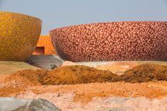 Centro Cerámico de Liling, China, por Archea Associati. Fotografía © Cristiano Bianchi. Señala encima de la imagen para verla más grande.