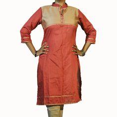 # AbhiSar # Diva Collection # Cotton Silk Kurti