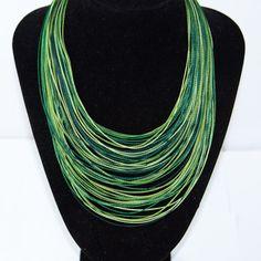 Green Beleza Necklace.