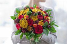 Love it! Bouquet from flowerslovers.