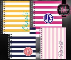 Custom Notebook/Pad/Paper Personalized and by BoutiqueMonogram, $19.99