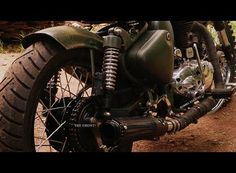 Ghost from Barrel Exhaust on a C500 Bobber
