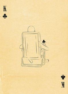 King of Clubs  - by Patrik Svensson (Swedish graphic designer)