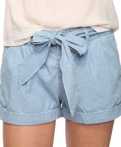 Casual Chambray Shorts. Bought them last week.