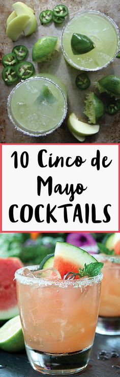 It's time to celebrate #CincoDeMayo with #Tequila and #cocktails