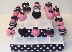 Coordinating Cake Pops Perfect for Valentine's or by SugarParlour, $32.00