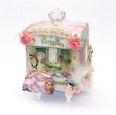 Small Marie Antoinette Decorative Keepsake Box