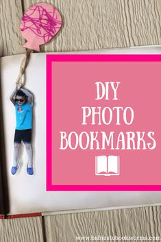 "Make these easy DIY photo bookmarks inspired by the children's book ""Brave Enough for Two""! Activities For 2 Year Olds, Infant Activities, Learning Activities, Photo Bookmarks, Bookmarks Kids, Learning Through Play, Fun Learning, Preschool Crafts, Preschool Lessons"