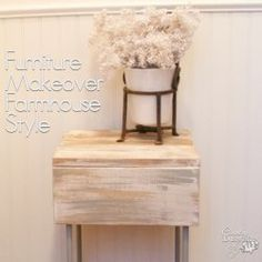 Furniture Makeover Farmhouse Style - Country Design Style