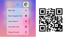 #Móviles #qr Google Chrome para iPhone ya tiene un lector de códigos QR integrado