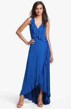 FELICITY & COCO Ruffle Faux Wrap Dress