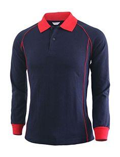 BCPOLO Casual unisex sportswear unique design long sleeve polo shirt-navy XS BCPOLO http://www.amazon.com/dp/B00Q6DN5A2/ref=cm_sw_r_pi_dp_X0v7ub13ARE96